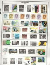 1¢ WONDER'S ~ NETHERLANDS MINT & USED ON PAGES ALL SHOWN ~ Y67