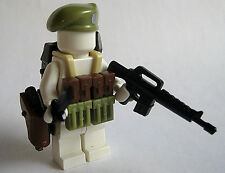 Custom GREEN BERET Accessory Pack for Lego Minifigures BrickArms Brickforge