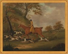 Huntsman and Hounds John Nott Sartorius Jagen Hunde Pferd Reiter B A1 02666