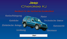 Jeep Cherokee KJ CD réparation Instructions 2.5 CRD 2.4 3.7 Liberty jante Navi Radio