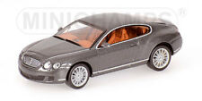 Bentley Continental Gt 2008 Minichamps 1:64 640139600 Modellino