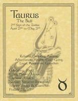 Taurus (Zodiac) Parchment Page for Book of Shadows!