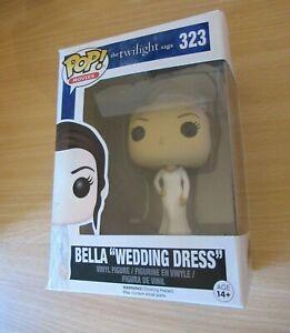 "FUNKO POP MOVIES #323TWILIGHT SAGA BELLA ""WEDDING DRESS"" NEW - DAMAGED BOX 14+"