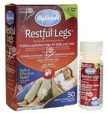 Restful Legs for Restless Leg Syndrome; x50tabs EFFECTIVE