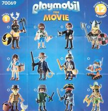 PLAYMOBIL 70069  - FIGURAS SERIE 1 THE MOVIE - NUEVO