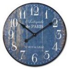 "Extra, Extra Large Retro Shabby Chic Wall Clock. 58cm Diameter (22"" +) 1A024"