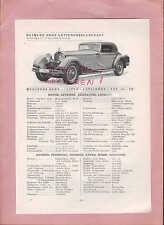 Stuttgart-Sous Türkheim types tableau 1934, Daimler-Benz Mercedes-Benz 710-ss, 770