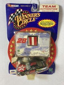 Ricky Rudd Winner's Circle Team Authentics Sheet Metal Rare NASCAR Hasbro