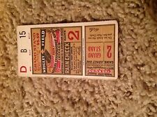 1929 world series ticket chicago cubs philadelphia As Foxx Simmons Hr Grove Sv