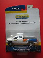 ERTL NEW HOLLAND DODGE RAM 2500 DEALER PICKUP #13798 1: 64 SCALE