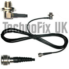 SO239 antenna mount base 4m cable to N-type plug, for aerials with PL259 fitting