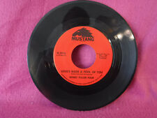 Bobby Fuller Four, Love's Made A Fool Of You, Mustang Records M 3016, 1966 Rock