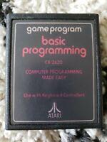 BASIC Programming (Atari 2600, 1979) Cartridge only