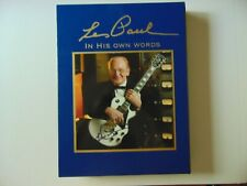 """""""Guitar Legend"""" Les Paul Double Signed Book """"Les Paul- In His Own Words"""""""