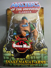 MOTU Classics Snake Man At Arms Figure NEW