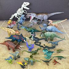 JURASSIC PARK WORLD Action Figure Dinosaurs Lot 27 Figures - Sound Work - L@@K!