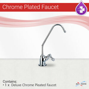 Reverse Osmosis RO Deluxe Style CP Chrome Plated Non Air Gap Water Filter Faucet