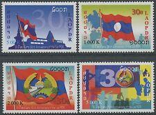 LAOS N°1603/1606** Anniversaire de la République , 2005 Sc#1679D-1679G MNH