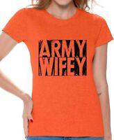 Army Wifey Shirt Army Wifey T Shirt Valentine's Day Gift for Army Wife