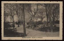 cartolina MONDOVI' PIAZZA giardino del belvedere