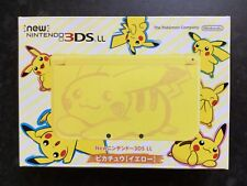 'New' Nintendo 3DS LL Limited Pikachu Edition. Brand New.