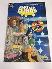 The New Teen Titans # 6 DC Comics March 1985 Cyborg Wolfman Perez VF
