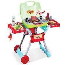 Kitchen Play Deluxe Bbq Pretend Grill Set W/ Light Sound/#PS50A