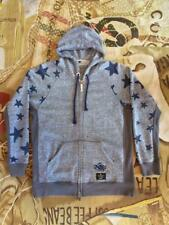 VIVIENNE WESTWOOD ANGLOMANIA LEE JEANS STAR HOODED ZIPPED JACKET SIZE XL