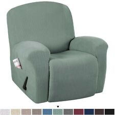 Elastic Recliner Slipcovers Soft Stretch Jacquard Sofa Furniture Cover Protector