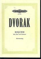 Dvorak - Requiem,  Klavierauszug von James Ponmann