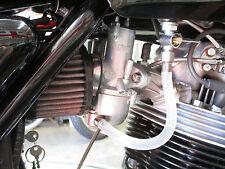 Norton Commando fuel line gas tube set UK 06-5192 hose assembly