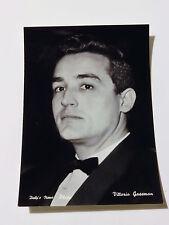 Cartolina attori Vittorio Gassman 10,3x14,8cm