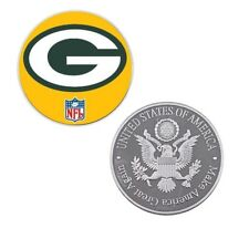 Nfl Coin Us Football Logos Souvenir Challenge Coins Green Bay Packers Fan Gift