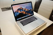 "Apple MacBook Pro laptop 15"" 2.0GHz i7 8GB 256GB - Low Cycle Count"