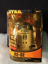 Star Wars R2-D2 LIGHTS & SOUND FIGURE SUPER DEFORMED Need BAtteryNEW SEALED 2005