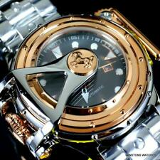 Invicta Chatham & Dover Stainless Steel Lefty Automatic Rose Gold Tone Watch New