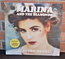 MARINA AND THE DIAMONDS- 'Electra Heart 2LP, PINK COLORED Vinyl Gatefold NEW