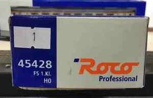 ROCO HO 45428.1 FS CARROZZA PASSEGGERI GRAN CONFORT 1a CL. LOGO INCLINATO NUOVA