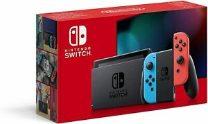 BRAND NEW Nintendo Switch 32GB Red / Neon Console Improved Battery Stock