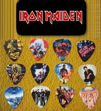IRON MAIDEN Guitar Pick Tin Includes Set of 12 Guitar Picks