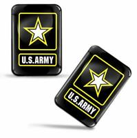 Autocollants 3D Drapeau Armée des Etats-Unis USA Army Millitary Flag Stickers