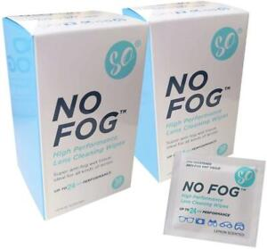 No Fog Lens Cleaning Wipes - 30 Wipes (Pack of 2)