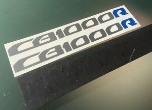 CB1000R Stickers Decals for CB1000 R Tail Unit Sides (Any Colour) 140mm