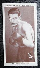 British ABA Light Weight Champion Boxer  Danahar  Original Vintage 1930's Card