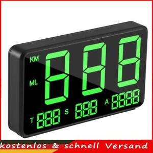 Head up Display Auto HUD GPS Tachometer 4,5Zoll MPH / KMH Geschwindigkeitsmesser