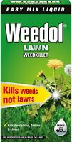 Weedol Concentrated Lawn Weedkiller Easy Mix Liquid 500ml Kills Weeds Not Lawns