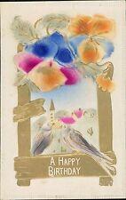Vintage Embossed German Greetings Postcards   JE.1631