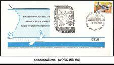 AUSTRALIA 1980 INAUGURAL FLIGHT HONART(TAS)-CHRISTCHURCH (NZ) SPECIAL COVER WITH