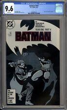 Batman 407 CGC Graded 9.6 NM+ Year One DC Comics 1987