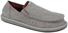 Sanuk Pick Pocket Felt Sidewalk Surfer - Grey - New